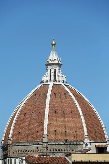Florence-the dome of the Cathedral of Santa Maria del Fiore