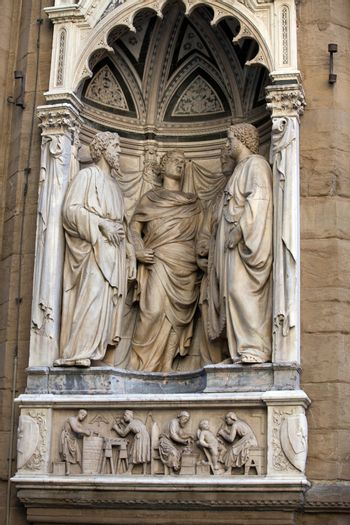 Florence - Church of Orsanmichele. Four Crowned Martyrs or Four Saints