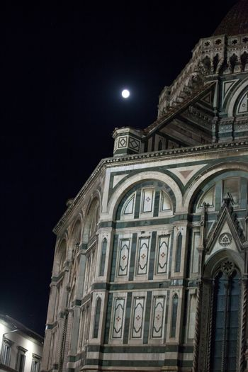 Florence- the Cathedral of Santa Maria del Fiore by night