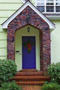 Klinker brick Doorway