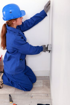 Female installing switch