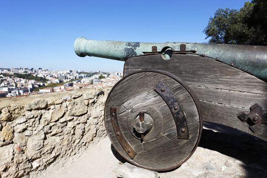 cannon of Saint George Castle