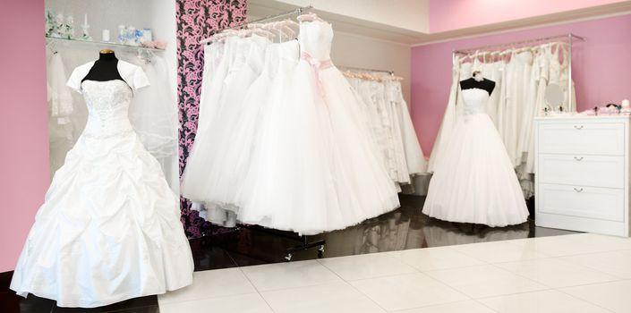 Wedding store panorama