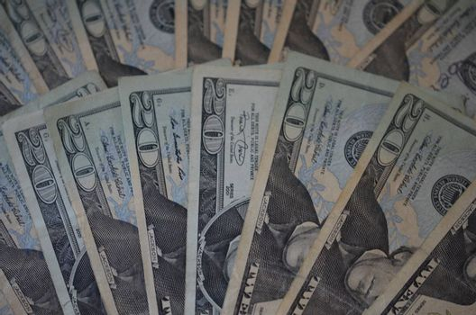 a background image of us money bills