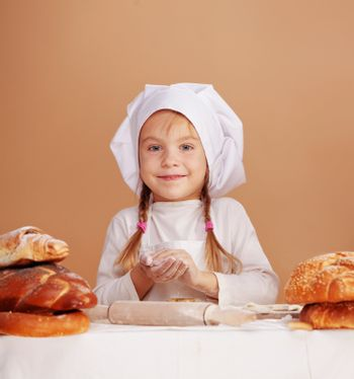 Little cute baker