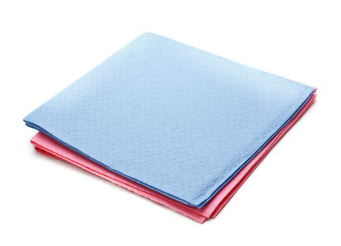 two microfiber dusters