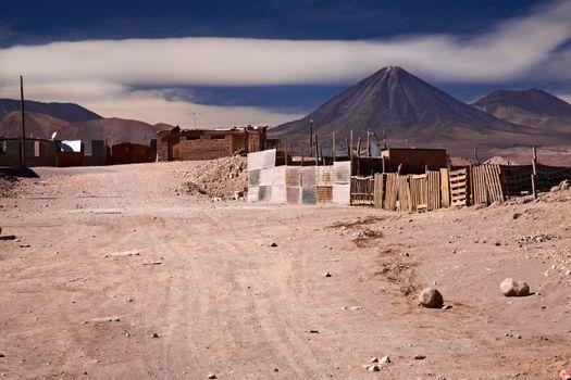 buildings in San Pedro de Atacama, Chile