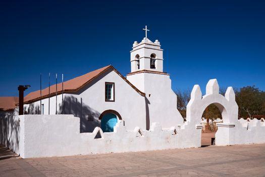 Church of San Pedro, a National Monument, San Pedro de Atacama,