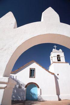 Church of San Pedro, San Pedro de Atacama, Chile