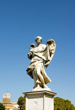 holy angel angel Bridge  Rome Italy