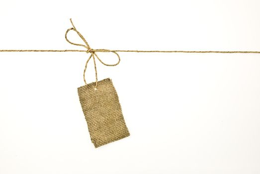 Sackcloth label