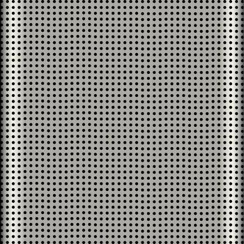 fine aluminum style speaker grill texture