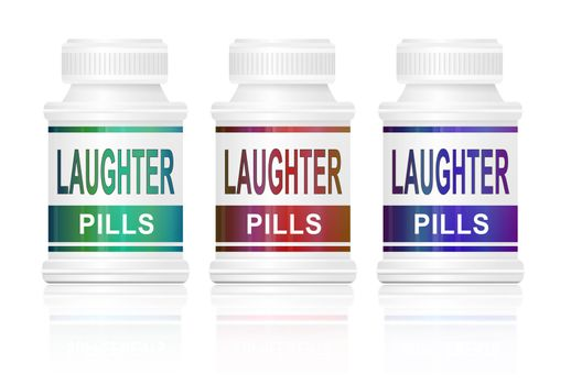 Laughter pills.