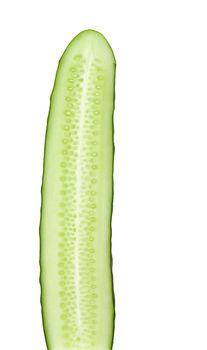 Fresh cut of cucumber