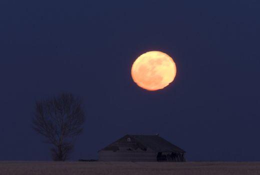 Night Shot Saskatchewan Canada