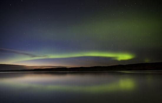 Night Shot Northern Lights
