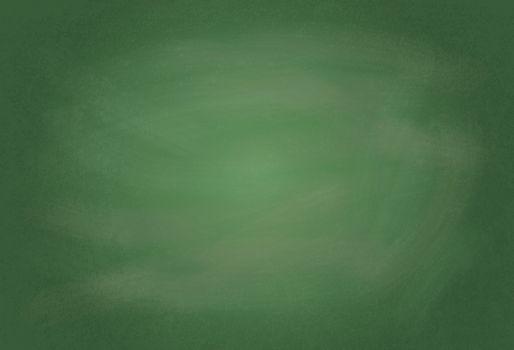 Empty realistic black board illustration