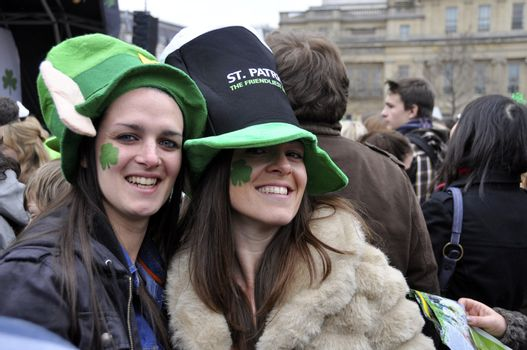 St Patrick's Day Parade and Festival in London, March 18, 2012