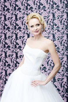 Bride blonde portrait