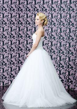Full length portrait of the bride