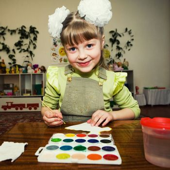 Young talent in a kindergarten