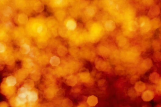 Red and Yellow Explosive Bokeh