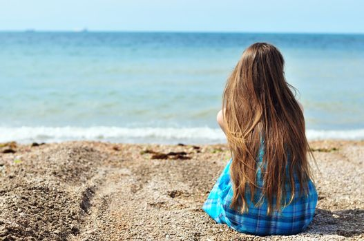 solitude near the sea