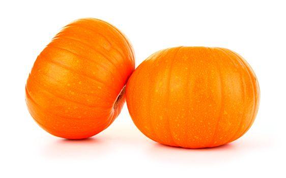 Two pumpkin