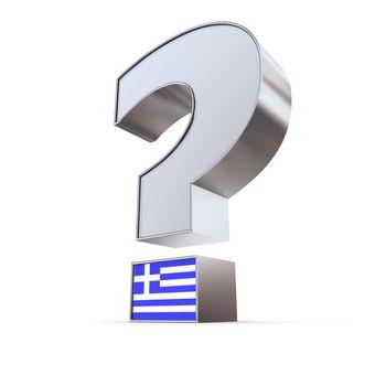 Question Mark - Greece