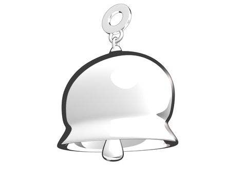 toon style bell (3D)