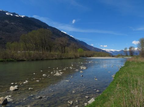 River Adda - northern Italy