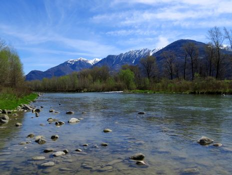 River Adda - northern Italy