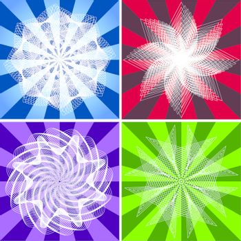 Vector stars collections