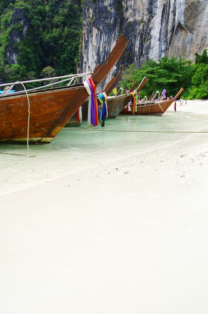 longtail boats, Andaman Sea