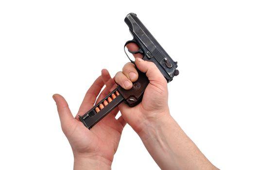 charging  pistol