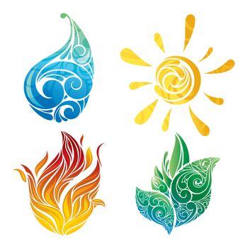 vector symbols of elements