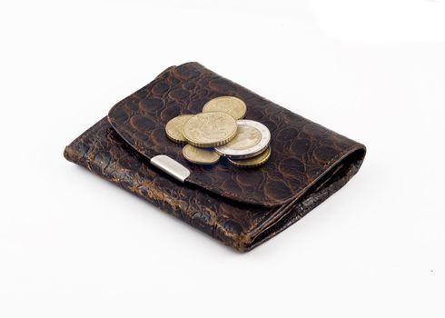 Obsolete wallet with change