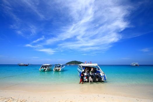 Similan National Park, paradise island located south of Thailand