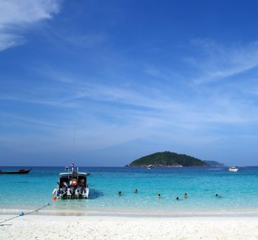 Similan Beach Island Number 4 ,Paradise island located at south