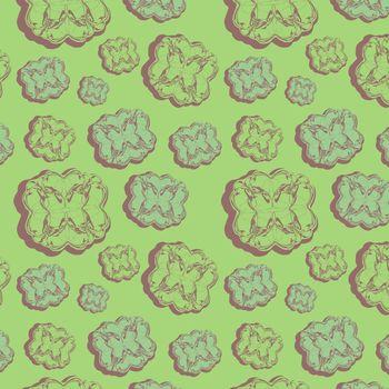 Seamless pattern, vector, illustration