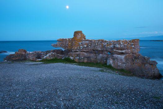 raukars at Gotland, Sweden