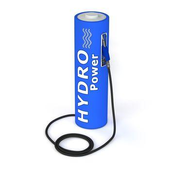 Battery Petrol Station - Hydro Power