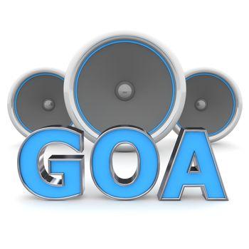 Speakers GOA � Blue
