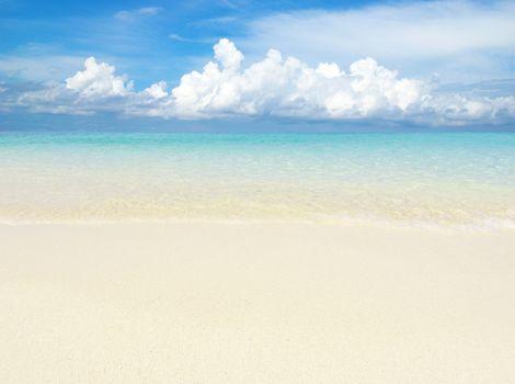 sand of beach andaman sea