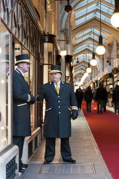 Beadles at Burlington Arcade in London