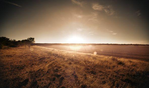 Stunning Rural Sunset