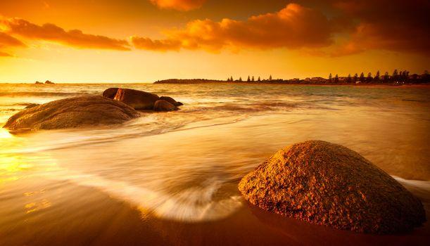 Sun Tinted Beach