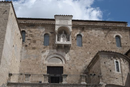 detail of the Cathedral of Anagni