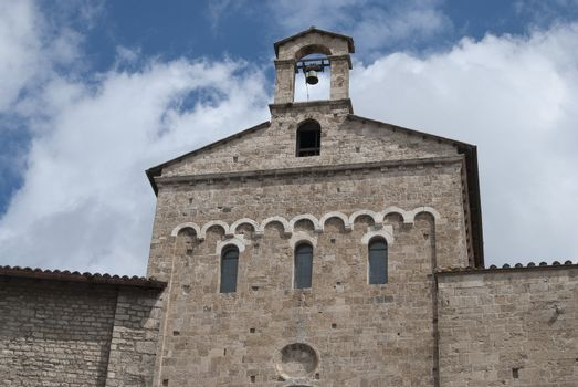 the cathedral of Santa Maria at anagni