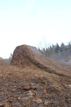 mountainbike dirt hills
